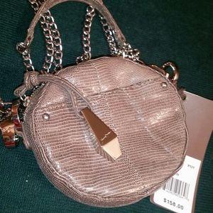 Junior Drake Italian Leather Micro Cross Body Bag